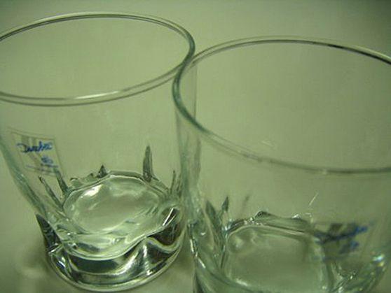 お洒落なグラス