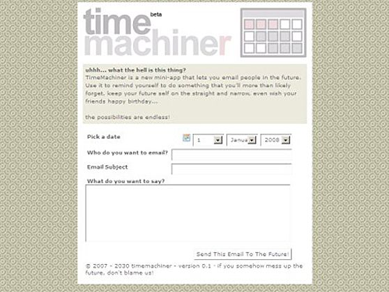 Time Machiner
