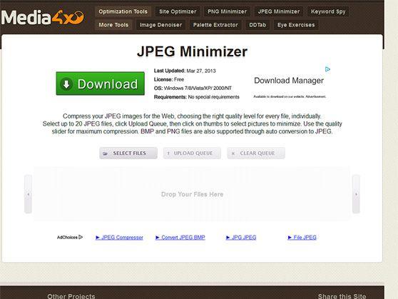 JPEG Minimizer