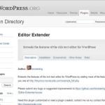 Editor Extender