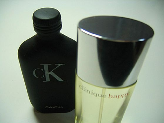 CK、clinique happy